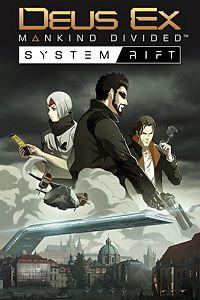 Carátula del juego Deus Ex: Mankind Divided - System Rift de Xbox One