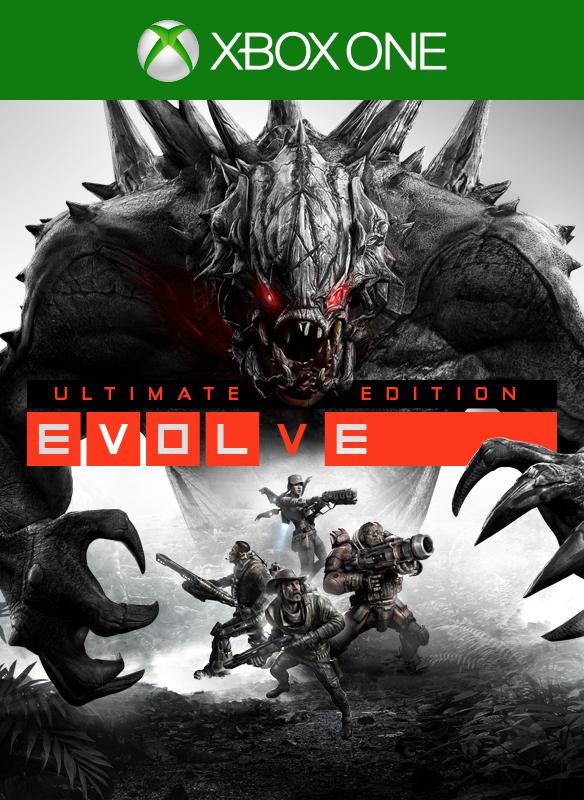 Evolve Ultimate Edition boxshot