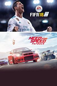 Carátula del juego EA SPORTS FIFA 18 and Need for Speed Payback Bundle para Xbox One