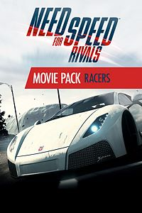 Carátula del juego Need for Speed Rivals Movie Pack - Racers de Xbox One