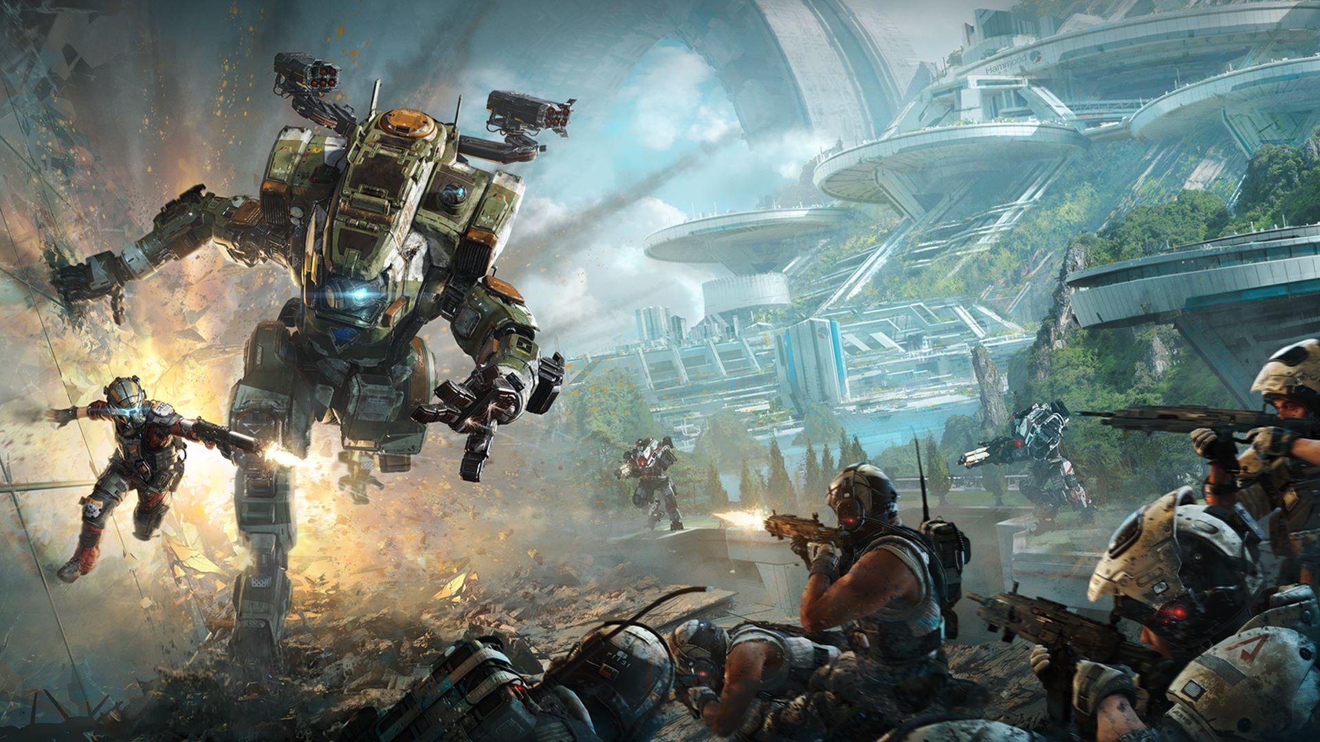 Prueba abierta de multijugador de Titanfall™ 2