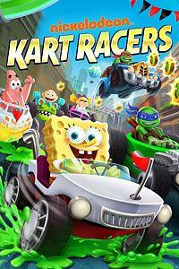Carátula para el juego Nickelodeon: Kart Racers de Xbox 360