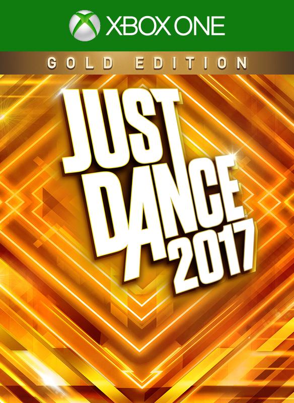 Just Dance 2017 Gold Edition boxshot