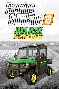 Carátula del juego Farming Simulator 19 - John Deere XUV865M Gator DLC