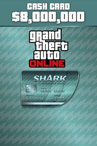 Carátula para el juego Megalodon Shark Cash Card de Xbox 360
