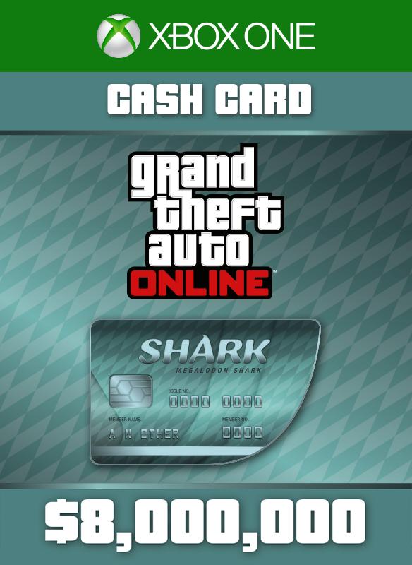 Tarjeta de dinero Tiburón megalodonte boxshot