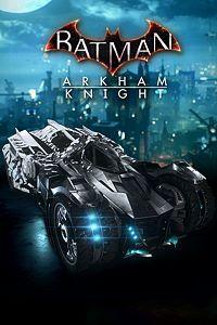 Carátula para el juego Rocksteady Themed Batmobile Skin de Xbox 360