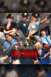 Carátula del juego DEAD OR ALIVE 5 Last Round Police Uniform Set