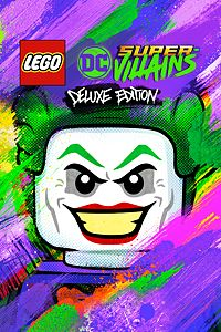 Carátula para el juego LEGO DC Super-Villains Deluxe Edition de Xbox One
