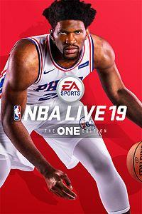 Carátula para el juego NBA LIVE 19 de Xbox 360