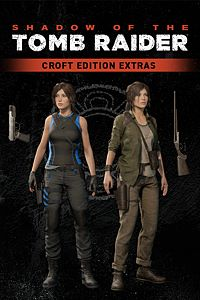 Carátula del juego Shadow of the Tomb Raider - Croft Edition Extras