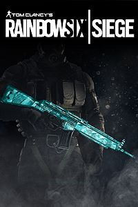 Carátula del juego Tom Clancy's Rainbow Six Siege: Cyan weapon skin