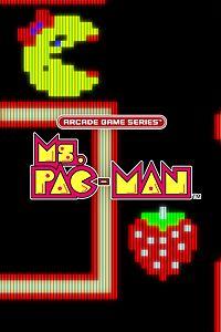 Carátula para el juego ARCADE GAME SERIES: Ms. PAC-MAN de Xbox One