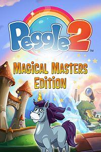 Carátula del juego Peggle 2 Magical Masters Edition de Xbox One