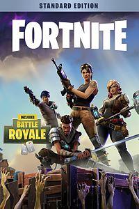 Carátula para el juego Fortnite - Standard Founder's Pack de Xbox One