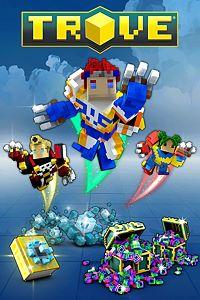 Carátula para el juego Trove - Vanguardian Super Pack de Xbox 360