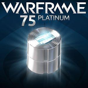 Warframe®: 75 Platinum Xbox One