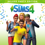 The Sims™ 4 Deluxe Party Edition Logo