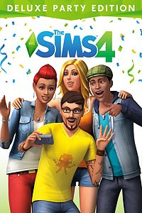 Carátula del juego The Sims 4 Deluxe Party Edition