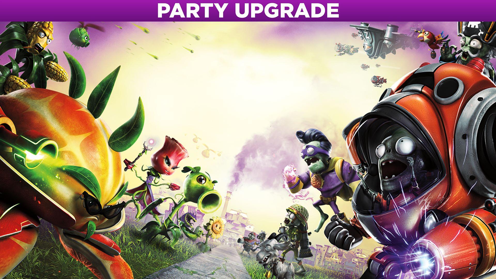 plants vs zombies garden warfare 2 party upgrade - Plants Vs Zombie Garden Warfare