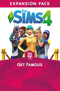 Carátula del juego The Sims 4 Get Famous