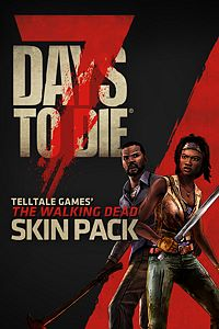 Carátula del juego 7 Days to Die - The Walking Dead Skin Pack de Xbox One