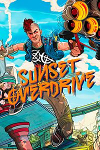 Carátula del juego Sunset Overdrive de Xbox One