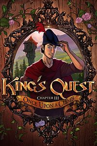 Carátula del juego King's Quest - Chapter 3: Once Upon a Climb