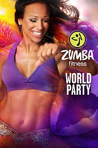 Carátula del juego Zumba Fitness World Party de Xbox One