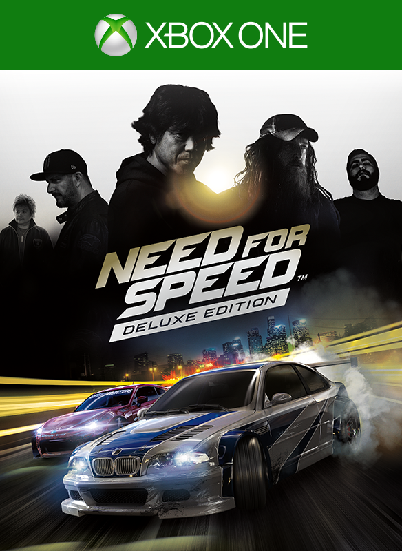 Need for Speed Deluxe boxshot