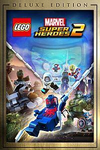 Carátula para el juego LEGO Marvel Super Heroes 2 Deluxe Edition de Xbox One