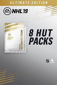 Carátula del juego NHL 19 Ultimate Edition: 8 HUT Gold Packs
