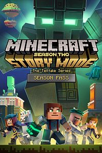 Carátula del juego Minecraft: Story Mode - Season Two - Season Pass (Episodes 2-5) de Xbox One