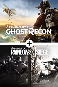Carátula del juego Tom Clancy's Ghost Recon Wildlands and Tom Clancy's Rainbow Six Siege