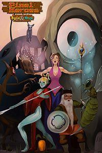Carátula para el juego Pixel Heroes: Byte & Magic de Xbox 360
