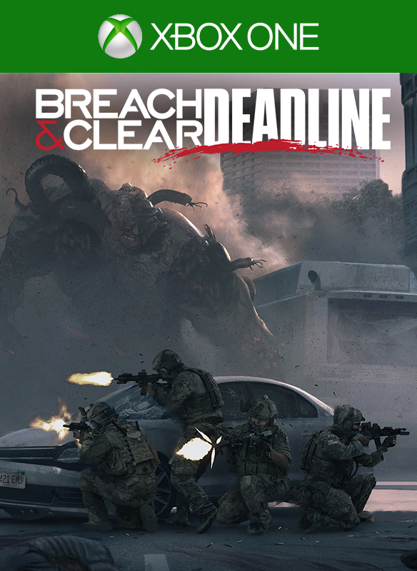 Breach & Clear: Deadline boxshot