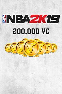 Carátula para el juego NBA 2K19 200,000 VC de Xbox 360