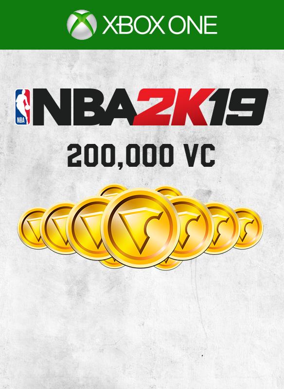 NBA 2K19 200 000 VC boxshot