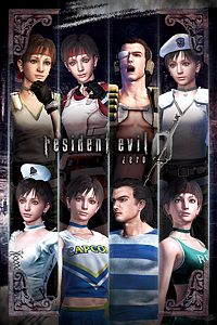 Carátula del juego Resident Evil 0 Complete Costume Pack