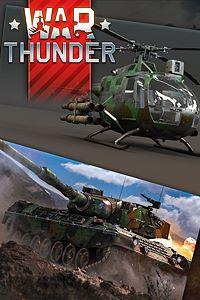 Carátula del juego War Thunder - BO 105 CB-2 and Leopard Bundle