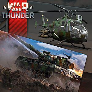 War Thunder - BO 105 CB-2 and Leopard Bundle Xbox One