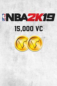 Carátula del juego NBA 2K19 15,000 VC