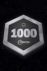 Carátula del juego Frontier Points 1000
