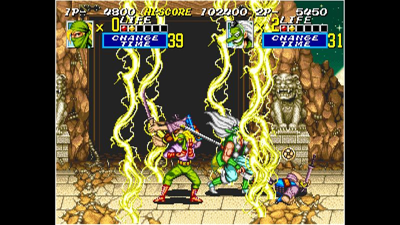 ACA NEOGEO SEGOKU 2 Screenshot