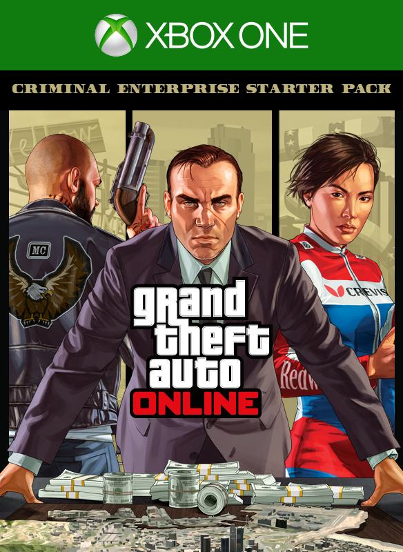 GTA Online: Criminal Enterprise Starter Pack boxshot