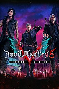 Carátula del juego Devil May Cry 5 Deluxe Edition