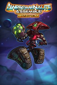 Carátula del juego Sentry X-58 - Awesomenauts Assemble! Character de Xbox One