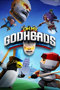 Carátula para el juego Oh My Godheads de Xbox 360