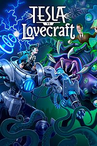 Carátula del juego Tesla vs Lovecraft para Xbox One