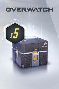 Carátula del juego Overwatch - 5 Anniversary Loot Boxes